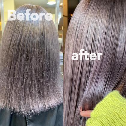 💖髪質改善+カラー💖同時進行で一石二鳥✌🏻
