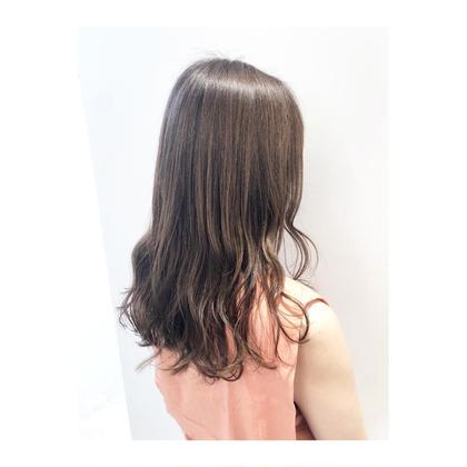 ⭐️ladies cut+艶color+高保湿2stepトリートメント⭐️