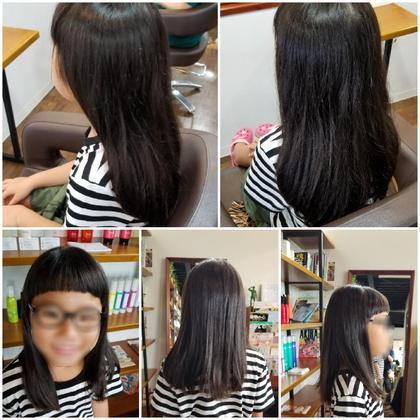 中田智子のキッズヘアスタイル・髪型