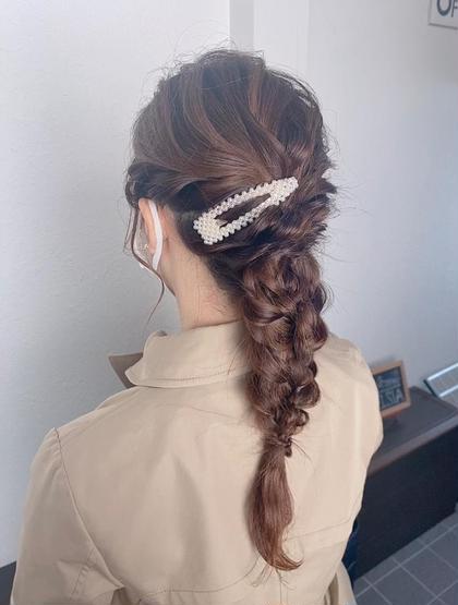 🍀🍭セットアップ【結婚式や二次会などイベント用にぜひ!やりたい髪型があればご持参くださいね】