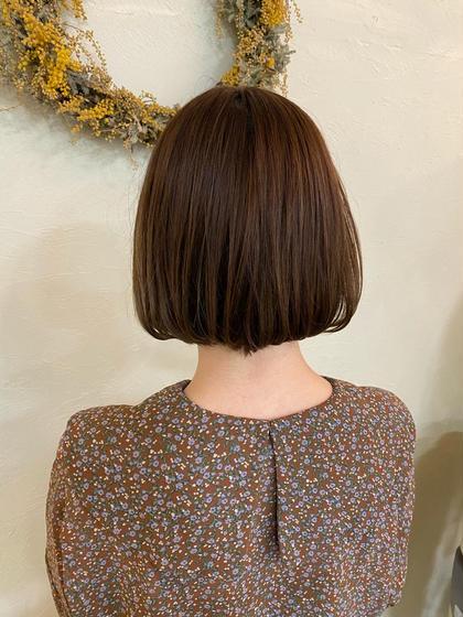 【しなやかな髪に】似合わせカット+縮毛矯正+トリートメント