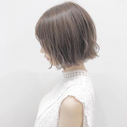 【ロング料金なし💕】天使の輪,艶カラー + ハホニコ3Stepシステムトリートメント ✨