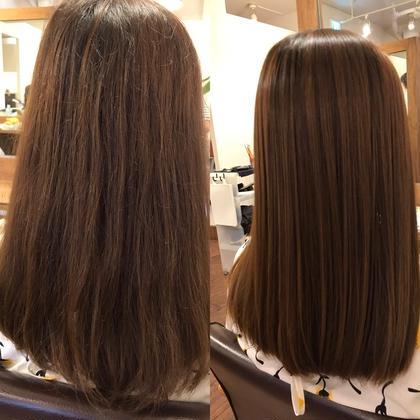 ✨広がりやすい髪くせ毛の方にオススメ✨酸熱トリートメント&カット✨