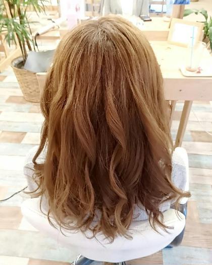 透け感グレージュ♡ Hair garden Rold所属・井上野乃花のスタイル