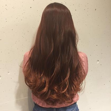 アッシュオレンジ☆ NERO  HAIR AND LIFE STORE所属・yabeharukaのスタイル