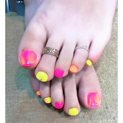 【minimo限定価格】オフあり/90分アートデザイン放題コースfoot nail(🌟持ち込みデザイン可◎)