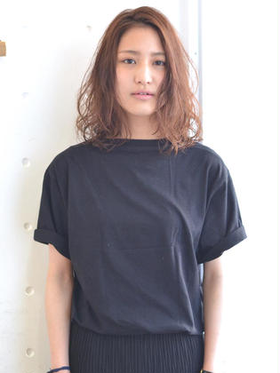 Melico hair所属・田中宏樹のスタイル