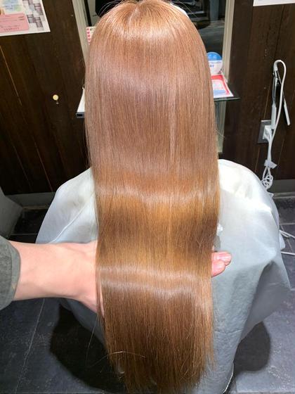 【✨サイエンスアクア+美髪縮毛矯正+カット✨】縮毛矯正のダメージが1/2 柔らかく自然に仕上がります