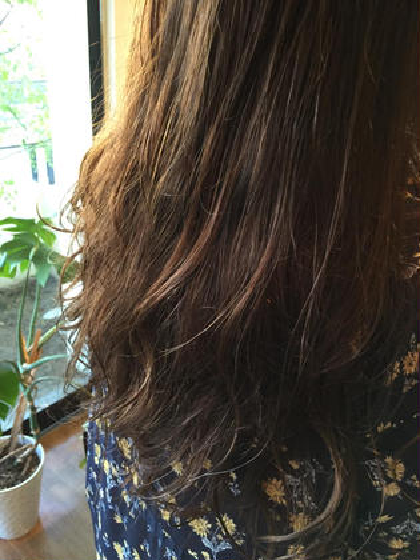 【5周年イルミナカラー祭り】前髪カット+イルミナカラー+イルミナVEILカラーTR