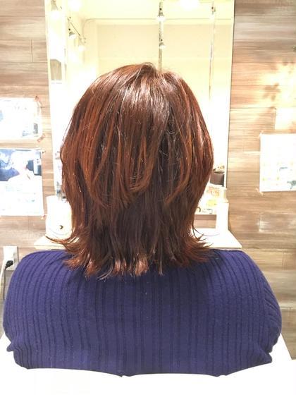 dot.hair所属・檀上幸美のスタイル