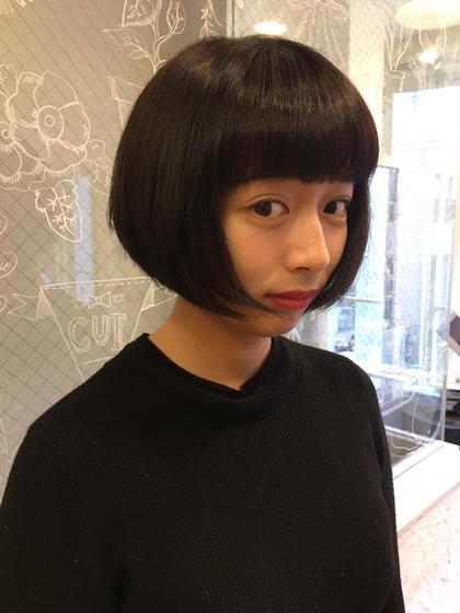 C所属のchabo☆のヘアカタログ