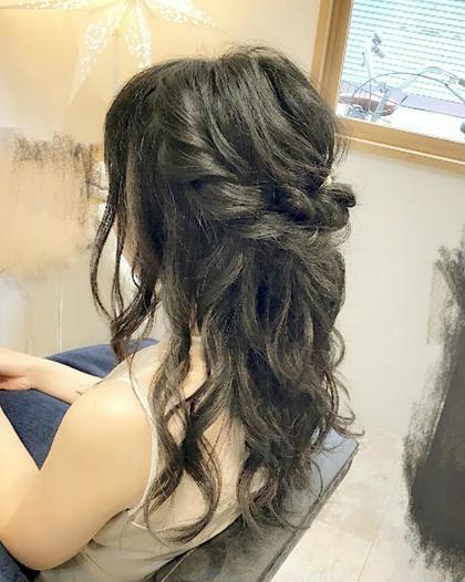 ハーフアップ✨ RINK hair所属・森本真陽留のスタイル