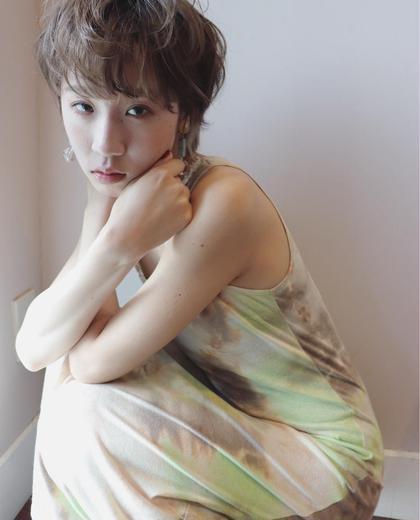 似合わせカット+美髪カラー(リタッチ3センチ以内)