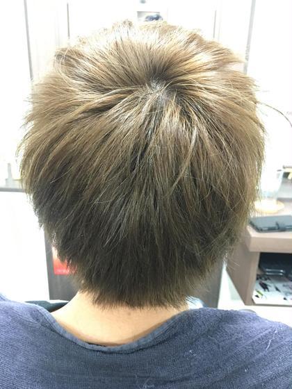 かっこいいマットアッシュ✨✨ Q-te 吉川所属・齋藤咲奈恵のスタイル