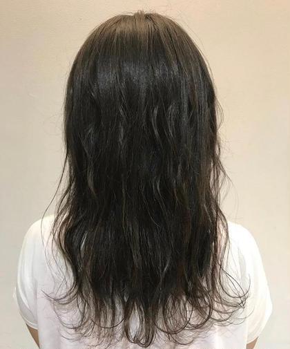 【ダークアッシュ】  暗いけど、透明感抜群💧 日に当たるとさらにキレイに GLAD natural hair所属・河田海陽のスタイル