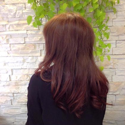 ローレイヤースタイル。 巻くと綺麗に動きが出てくれます。 KAMIROO AK:S所属・城倉侑加のスタイル
