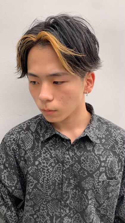 【メンズ】デザインカット+パーマ