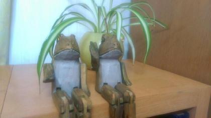 マスコットのカエルくんです。 アロマオイルマッサージ フアチャイ浦和店所属・サクライツヨシのフォト