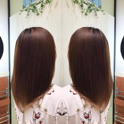 【平日限定‼️】✨過ごしやすい秋の朝も楽チンな髪へ✨シャンプー+縮毛矯正 +トリートメント🌞✨