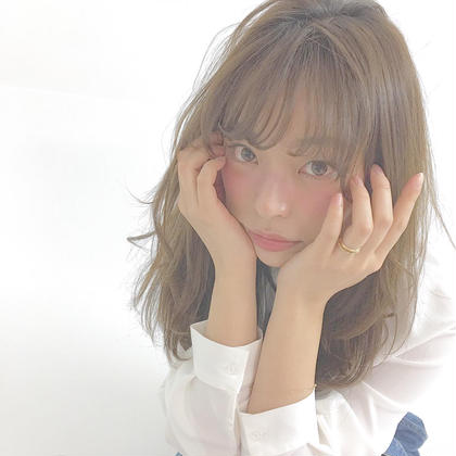 カラー ロング Instagramにも写真投稿中♡modelさん可愛い♡