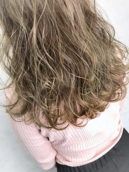 ⭕️巻き髪再現👍デジタルパーマ+カット