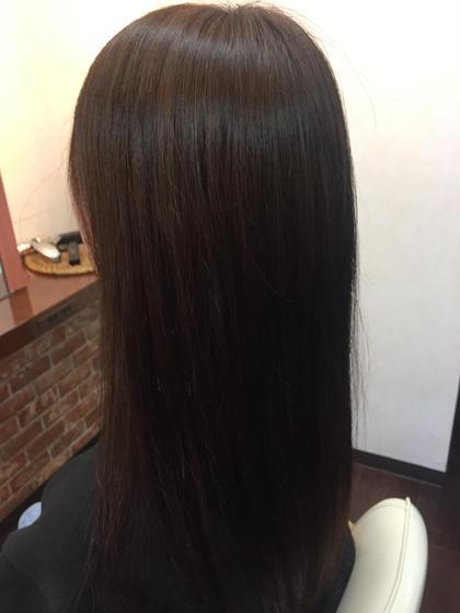 梅雨期間限定メニュー  スポット縮毛矯正  前髪 両サイド(お顔周りのみ)1〜2㎝幅