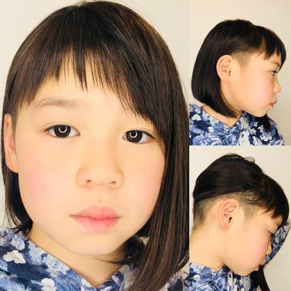 蘭丸-Ranmaru-のキッズヘアスタイル・髪型