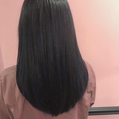 🌈湿気対策🌈髪質改善ストレート+ムコタトリートメント