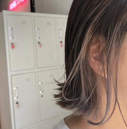 新規【人気急上昇】カット & インナーカラー & 全体カラー & ケアトリートメント