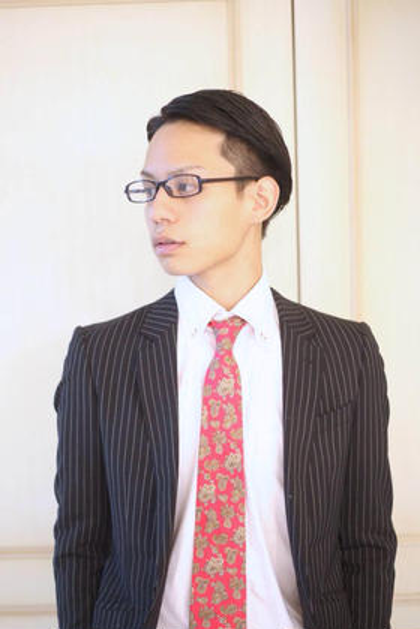 ビジネスクールツーブロック  爽やかなビジネススタイル! 黒髪がいきてきます! フォルテ表参道店所属・飯塚裕士のスタイル