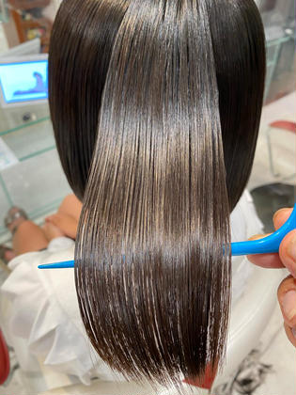 他のサロンではやってない本物の髪質改善ストレート☆半年ツヤ持続🌟コテ巻きOK🙆♂️値段相当の価値を保証☆