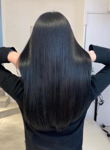 [セットメニュー]ワンカラー&髪質改善トリートメント👗🦋