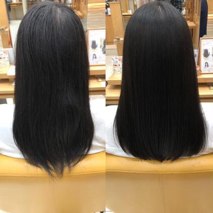 【Noストレスの髪へ!!】カット+縮毛矯正+トリートメント