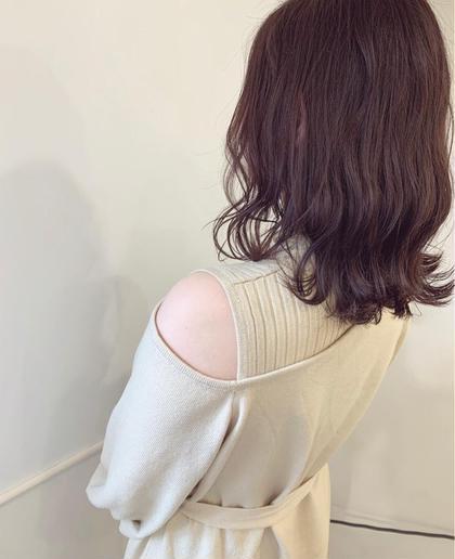 🌸大人気!🌸【艶感たっぷりピンク系カラー🌸】+【生トリートメント】+【スタイリングアレンジ✨⠀】