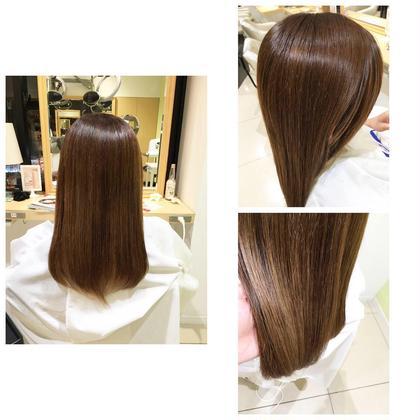 #ストレートパーマ HAIR MEKE Ash高津店所属・北林優子のスタイル