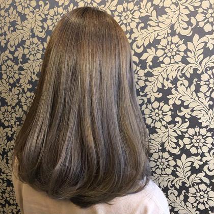 オススメ❣️【(カット+)カラー+トリートメント】美髪カラー✨+水素デトックス🌈+うるつやトリートメント💧