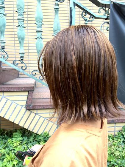 BLESS hair-salon所属・飯野梓のスタイル
