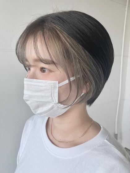 新規限定✨前髪カット+透明感カラー✨ロング料金なし💘