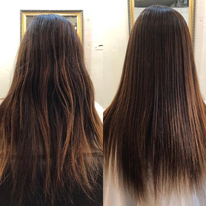 平日限定!朝時短✨今日から美髪はじめませんか‼️髪質改善ストレート+トリートメント+スパ