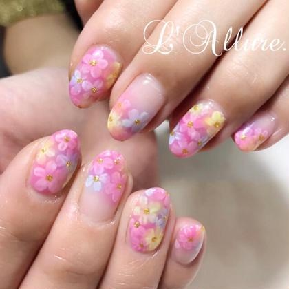 フラワー お花 ピンク