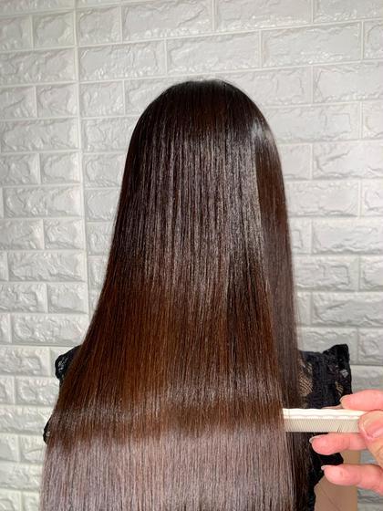 美髪ヘアエステプレミアムフルコース💙髪質改善『サイエンスアクア』&アシッド& Aujuaトリートメント