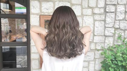 カット+オーガニックハーブカラー+髪質改善キュアトリートメント