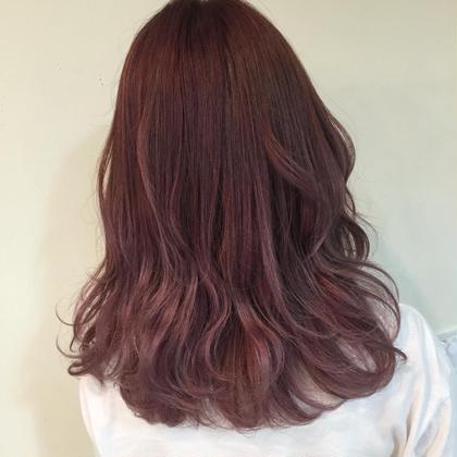 #pink #lavender ZEST八王子所属・松尾朋香のスタイル