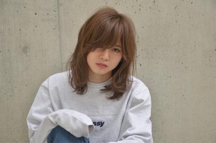 やりすぎないラベンダーアッシュが柔らかい質感に☺︎ EMMA所属・田代遼汰のスタイル