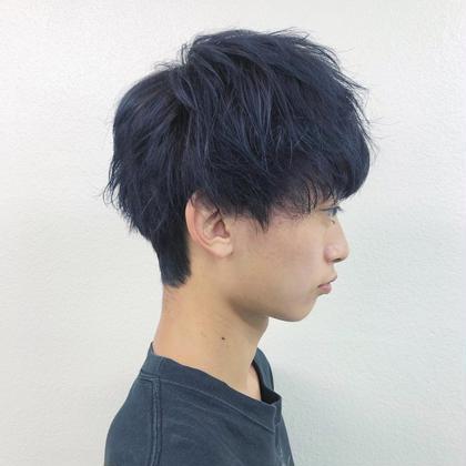 ⛓メンズ限定⛓ダブルカラー(ブリーチ込み)+髪質改善クイックトリートメント+炭酸ヘッドスパ