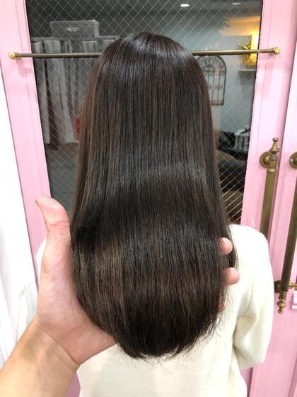 その他 カラー キッズ ネイル パーマ ヘアアレンジ マツエク・マツパ メンズ ロング 髪質改善シルクカラー💕💕 カラーしただけで天使の輪が3つできます✨ トリートメントでは出来ない本当の髪質改善✨
