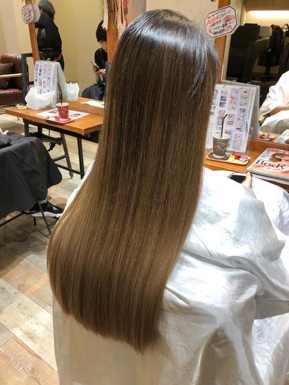 💫艶髪!髪質改善+質感カット+保湿トリートメント💫