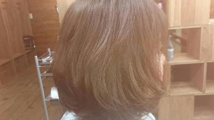自然なアッシュ系で 赤味を消した 可愛い色に仕上がりました♡ボブのグラデーションカット♡ Lanai hair所属・オーナー渡邉hiromiのフォト