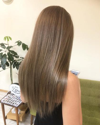 【SNSで話題❗️髪質改善】カット&✨aujuaトリートメント込み(プラス5000でカラーも追加可能)