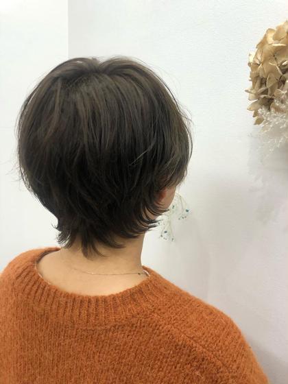 ✂︎肩上 ショートヘア